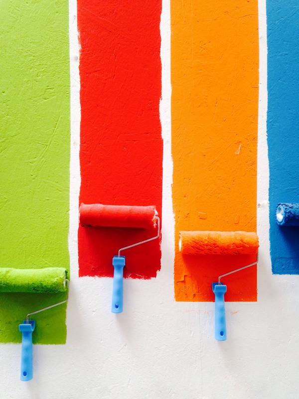 Calcium carbonate for paint