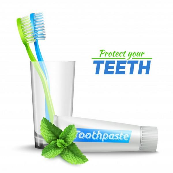 Calcium carbonate for dental care